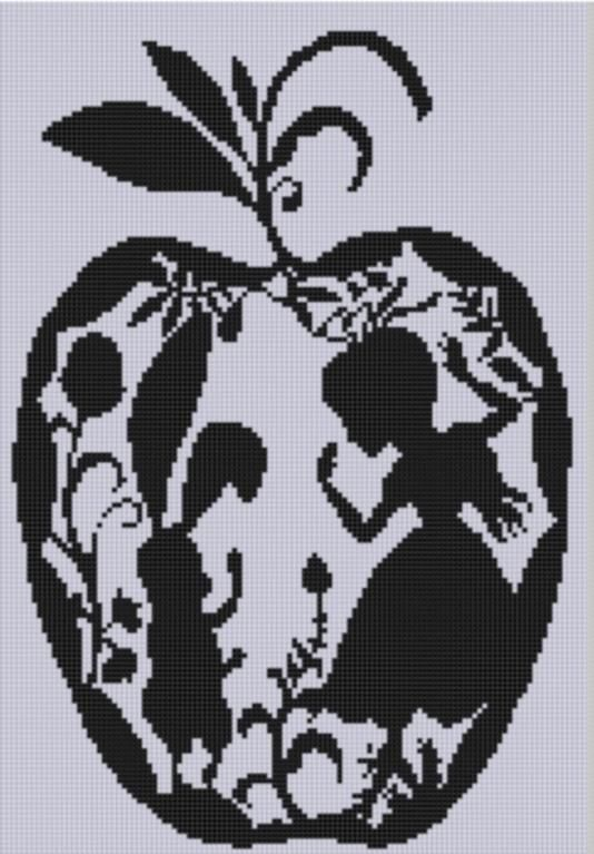 Wonderland Cross Stitch Pattern