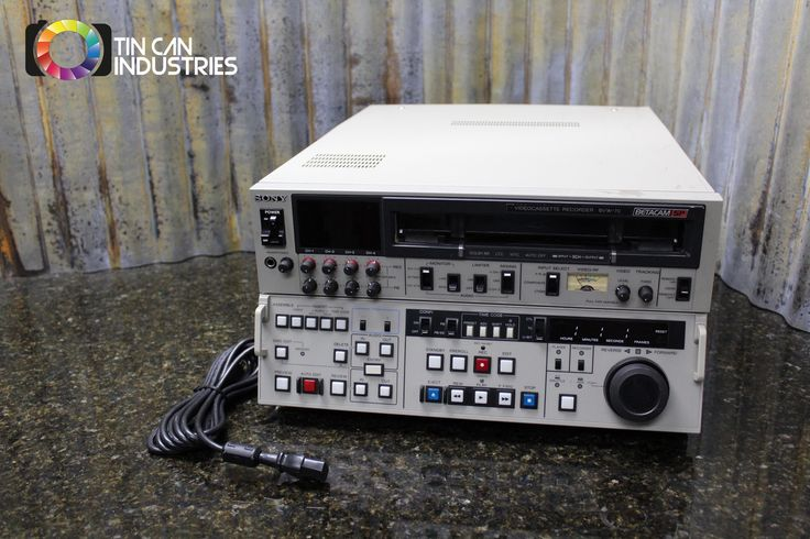 We know you were looking for one of these. http://tincanindustries.com/products/sony-betacam-sp-bvw-70-editing-cassette-recorder-player-fully-tested-free-s-h?utm_campaign=social_autopilot&utm_source=pin&utm_medium=pin If it is already sold, keep searching, there is plenty more to find.