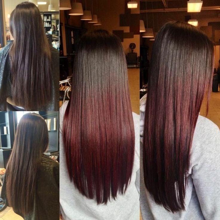 Pravana Mahogany Ombre On Virgin Hair By Jacquelyn Marie