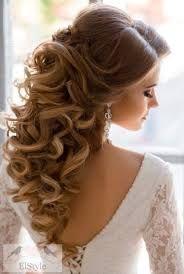 Resultado de imagem para penteado semi preso casamento