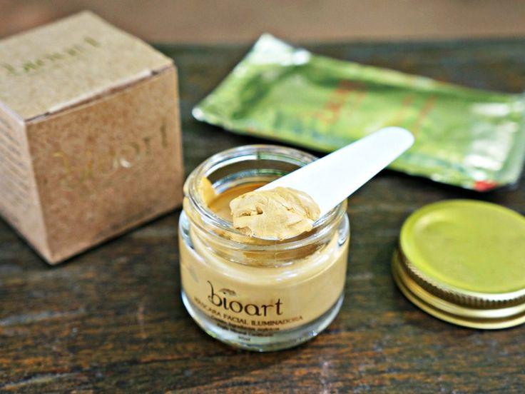 Melhores cosméticos orgânicos mácara de argila iluminadora bioart