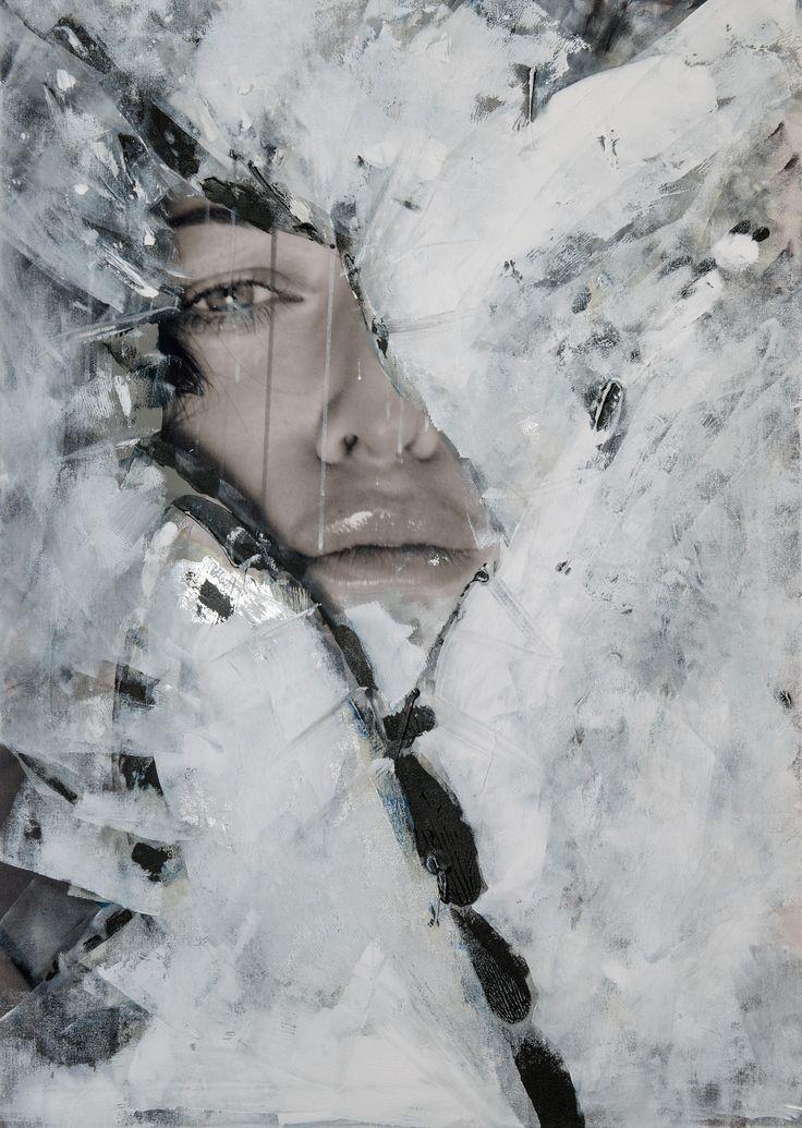 Czesław Czapliński, Alicja Domańska, Every nerve that hurts you heal, fotografia, akryl na płótnie, 2015
