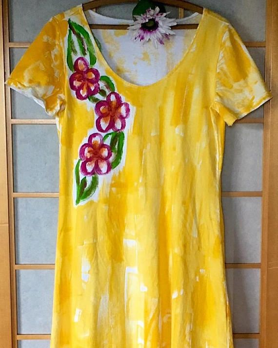 Hawaiian Dress  Plus Size Dress  Plus Size Hawaiian  Beach