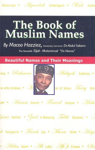 The Book of Muslim Names ** To view further for this item, visit the image link.
