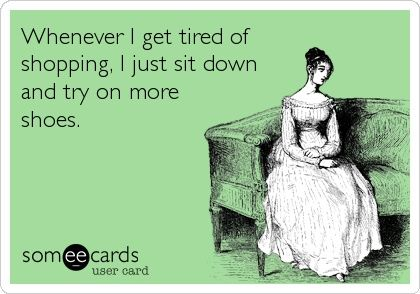 Makes sense to us, shopping is our cardio! Take a break & come in for our massive 90% off sale today – Tons of specially marked items have had their prices slashed and you won't believe the savings! Hurry in before it's over! #PlatosClosetNewmarket #sale #shoppingismycardio | www.platosclosetnewmarket.com