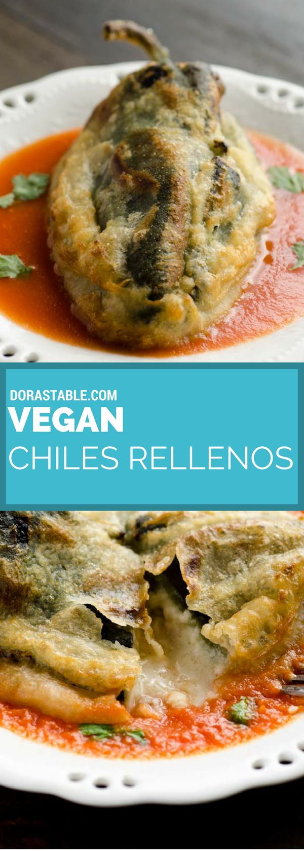 This recipe for vegan chiles rellenos is truly fantastic! They are crispy…