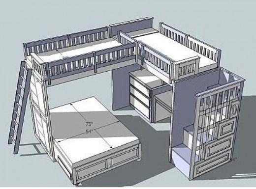 @annbeta  me gusta algo asi pero el sitio de juegos arriba y las camas abajo