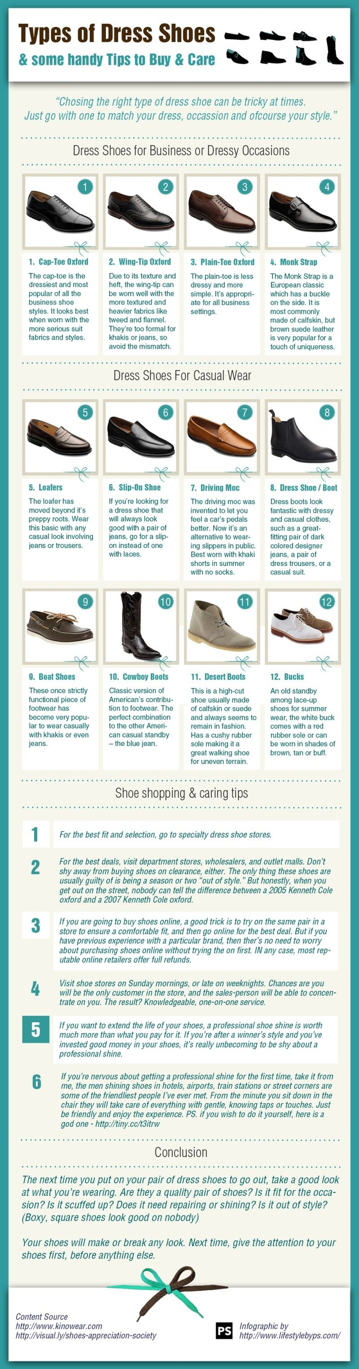Dress your man - Types Of Dress Shoes And Some Handy Tips To Buy And Care.