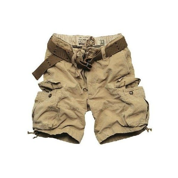 ??????Abercrombie & Fitch/??????????????corps belted cargo shorts/... ❤ liked on Polyvore featuring shorts, bottoms, pants, men, cargo shorts, belted cargo shorts, khaki shorts, khaki cargo shorts and belted shorts