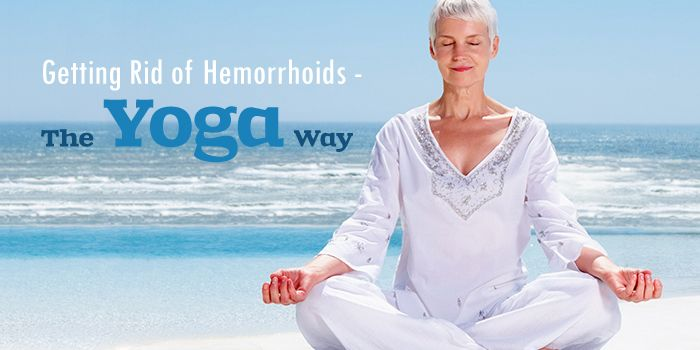 While yoga does not treat hemorrhoids directly, it can aid in getting rid of #hemorrhoids