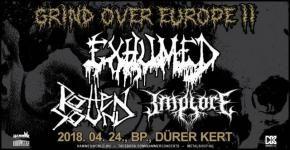 Underground grind darálás a Dürer Kert-ben - Grind Over Europe Tour II