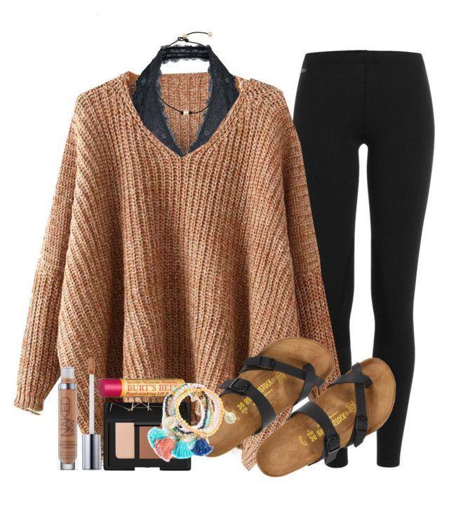 Wenn Sie Pullover tragen wollen, ist es ein Sturz, aber es ist um 70 ° C von mgally29 auf Polyvore mit Polyvore, Mode, Stil, Free People, Birkenstock, NARS Cosmetics, Urban Decay, Burt's Bees und Kleidung