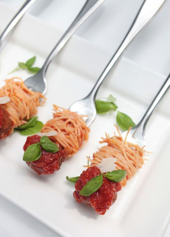 12 Tiny Wedding Treats That Will Satisfy Big-Time: These spaghetti sticks are easy to make and even easier to love.
