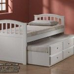 Tempat Tidur Sorong 226 | Furniture Anak | Interior Kamar Tidur |Mebel Jepara