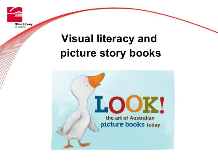 Visual literacy and picture story books. Lots of information, examples.