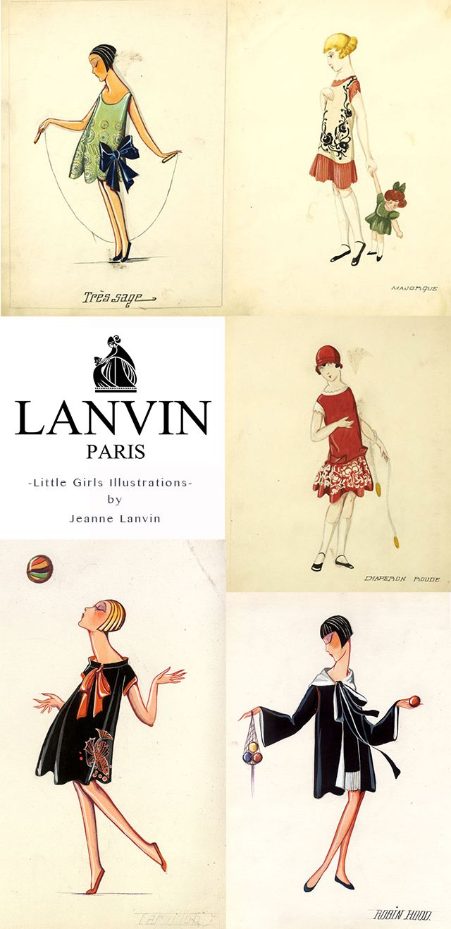 petit à petit and family: Downton Sewing with Jeanne Lanvin