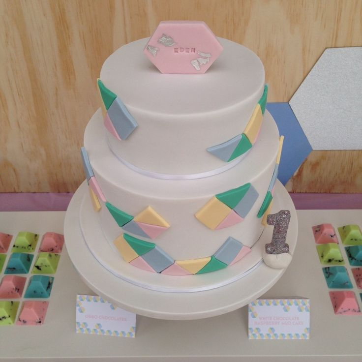 GEO PASTEL THEMED PARTY