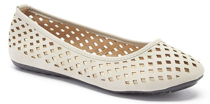 Women Ballerina Flats Slip On Shoes, Grey, 7.5. Slip on something cute and comfortable. Perfect for casual outfits. Comfortable, cute and perfect for a busy day in the office or running errands. Will add unique detail to any outfit. Faux leather upper.