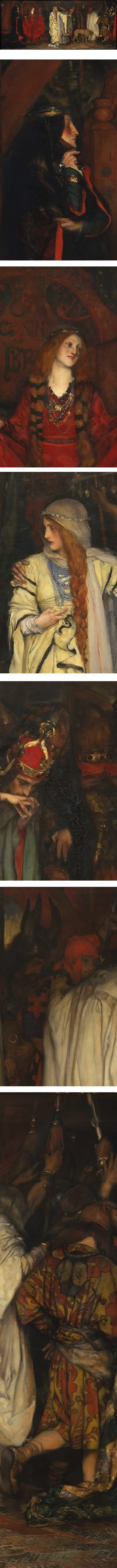 Eye Candy for Today: Edwin Austin Abbey scene from Shakespeare