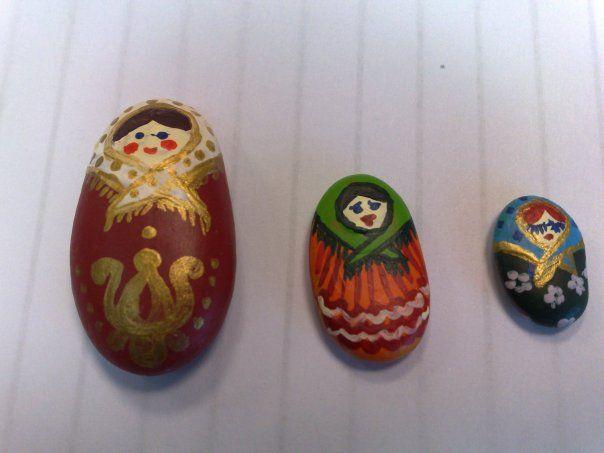 matrjoshka stones  I love stones:)
