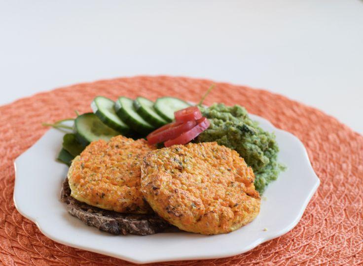 morot- och fetaostbiffar med broccolimos (biffar)