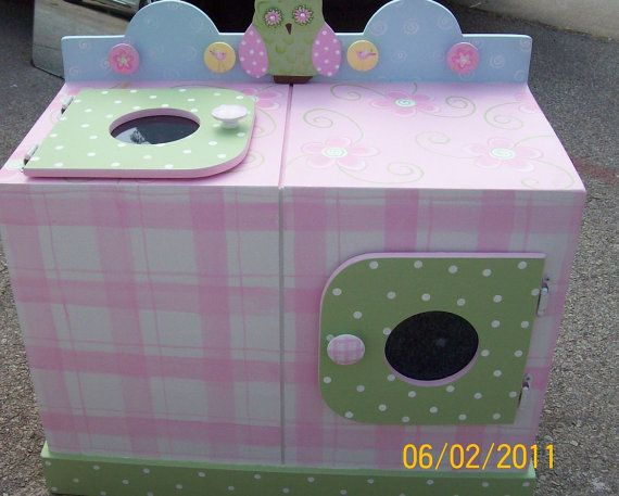 53 best pretend play images on pinterest pretend play play kitchens and washer and dryer. Black Bedroom Furniture Sets. Home Design Ideas