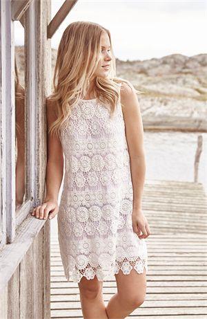 Capri Collection | June dress, valkoinen | Putiikki Rannalla