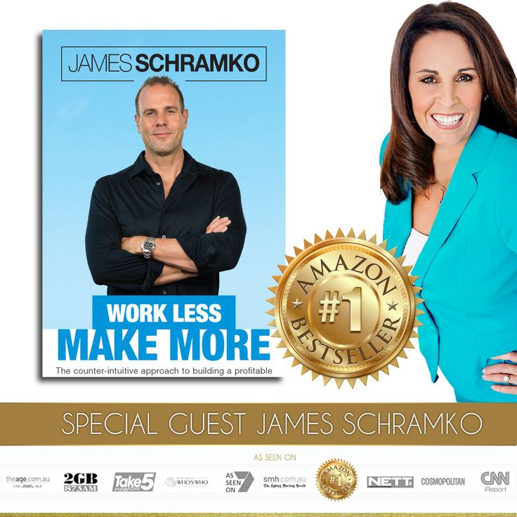 Click To Listen This Week's Elite Interview With James Schramko      I read this book twice in 2 days... a MUST READ! If you are an entrepreneur who is working far too much and forgotten what it is like to live a lifestyle business, you are going to love this