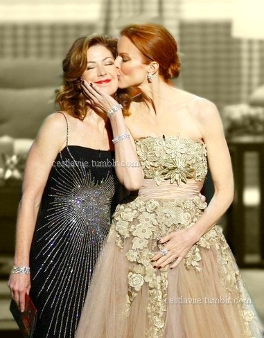 Marcia Cross and Dana Delany