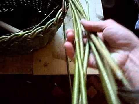 ▬►Плетение из газет ручек. Начало. / Weaving holders for a basket - YouTube
