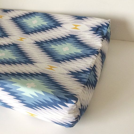 Listing for one Fitted Crib Sheet or Changing Pad Cover:  The cover is made with designer Cotton fabric  YOUR CHOICE OF SIZE: Standard Crib mattress (28