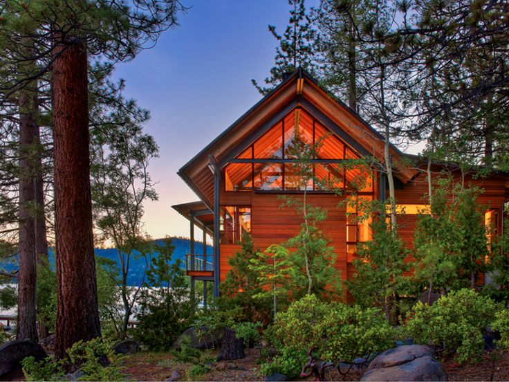 Lake Tahoe cabin (I wish)
