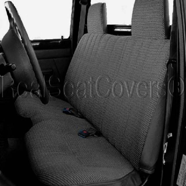 Toyota Pickup Front Solid Bench Custom Made To Exact Fit Seat Cover 1984    1995