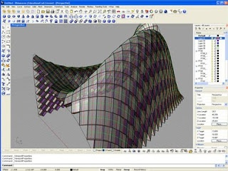 how to add a grid to an organic shape grasshopper