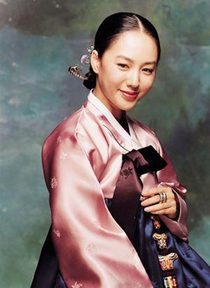 Korea. Beautiful traditional robe.