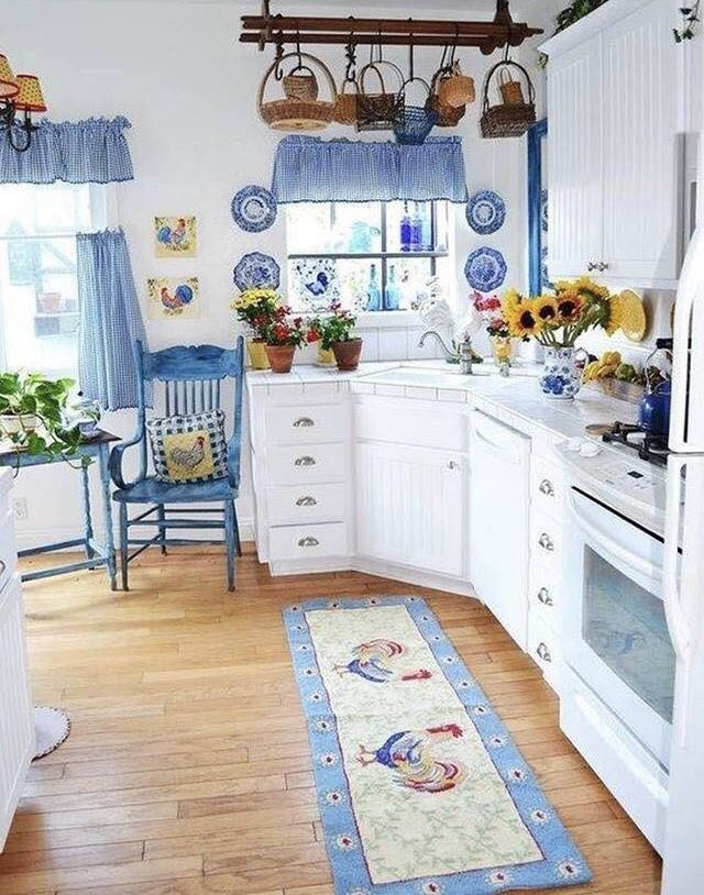 Blue and White, so refreshing.. | Lit Kitch in 2019 ...