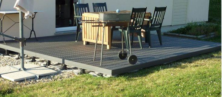 Les 25 meilleures id es de la cat gorie pose terrasse composite sur pinterest terrasses en for Forum terrasse composite