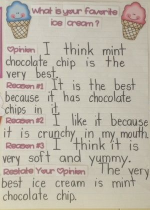 Teach With Laughter: Ice Cream Persuasive Writing