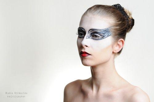 Black Swan make-up by Astral Make-up!