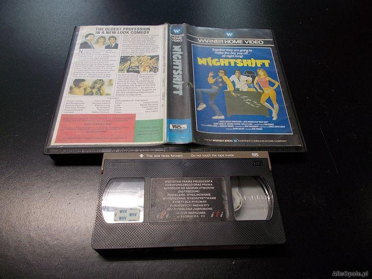 NOCNA ZMIANA - kaseta VHS - 1255 Opole - AlleOpole.pl (Opole)