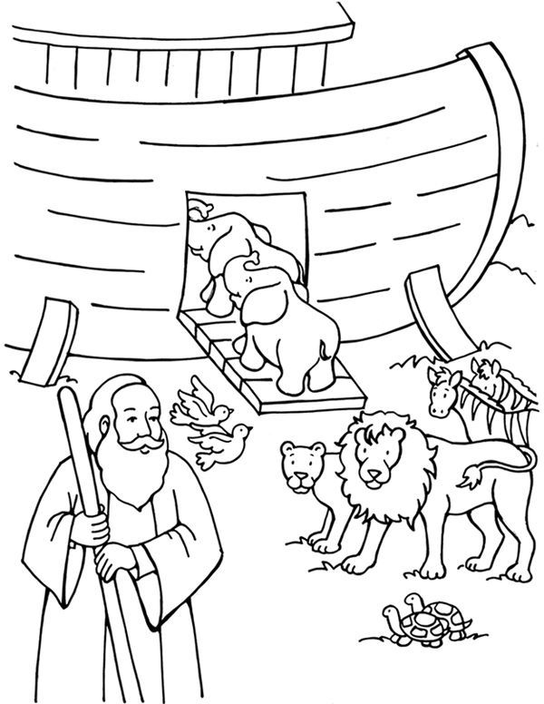 Noahs Ark Coloring Pages Sunday School Coloring Pages Coloring