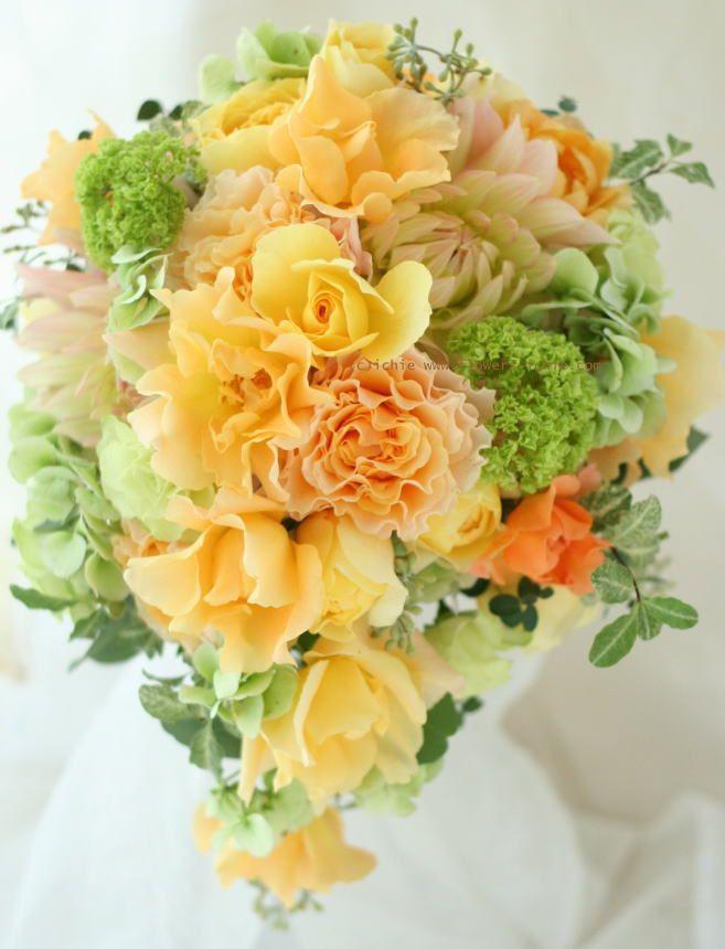 ブーケ ラ・カンパネラ : 一会 ウエディングの花
