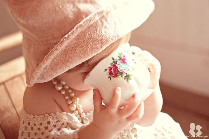 Cute! I keep many tea cups for for the grand daughters, and young ones coming for tea. We do not want to leave out anyone. All must join in.