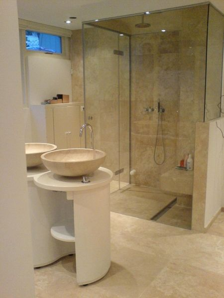 natuursteen badkamer - Google Search