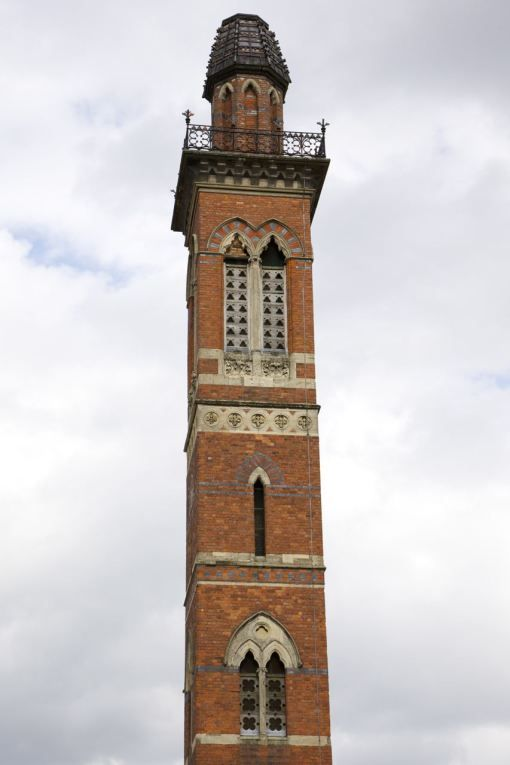 Chimney of the Edgbaston waterworks, c.1870