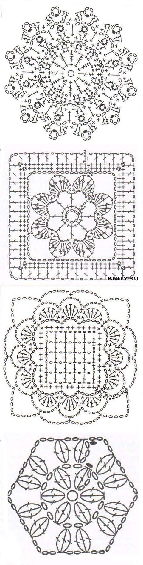 "Crochet Motivos ""Klubka.Net - Todo sobre ganchillo"