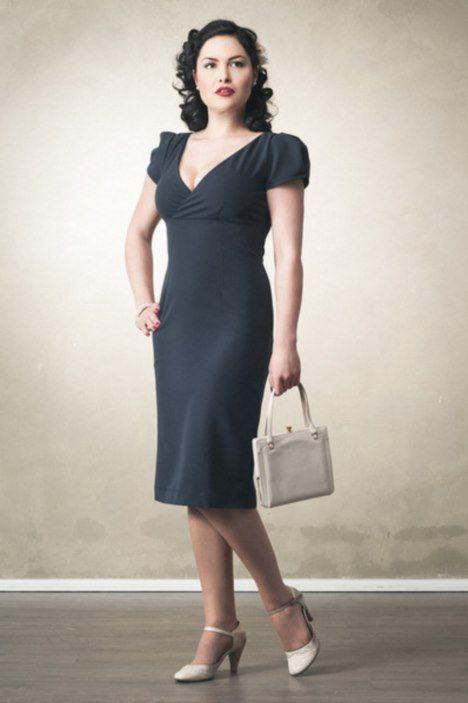 Gracy Q -- more at -- http://pinup-fashion.de/8232/gracy-q-elegante-vintage-mode-leipzig/