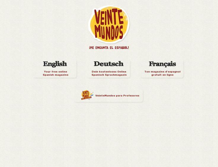 Revista dirigida a la enseñanza del español y a los estudiantes de español, snapped on Snapito!