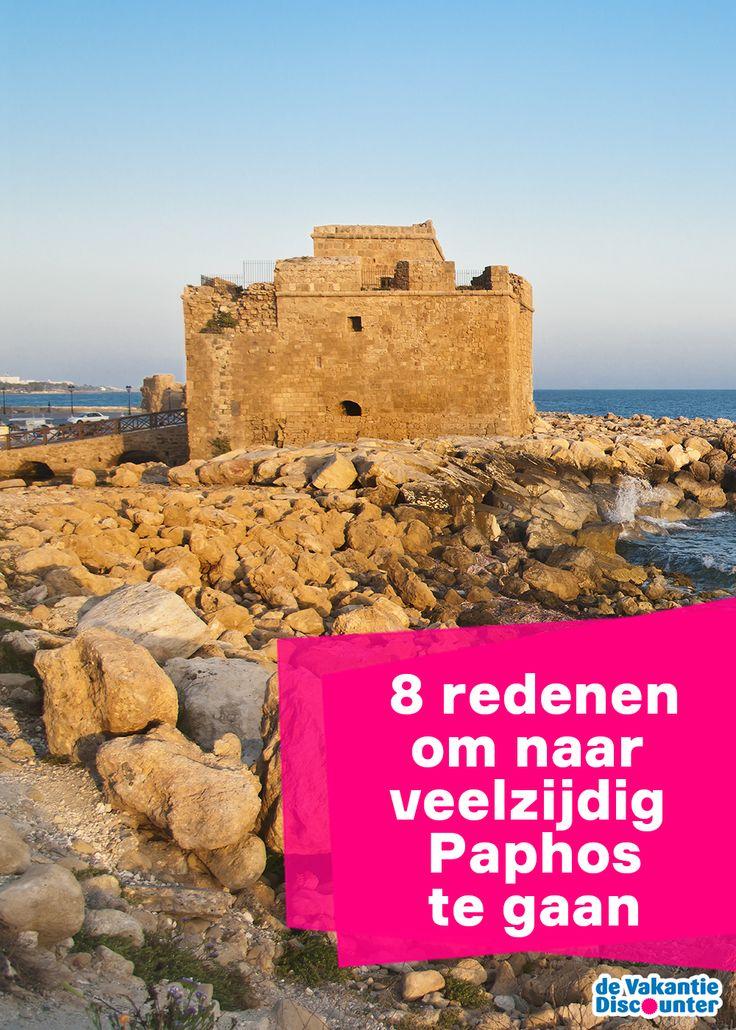 Zon, zee, strand en uitgaan; dat is waar de Nederlanders veelal voor naar de Cyprotische badplaats Paphos komen. Maar ook de geweldige haven, stranden, markten en de indrukwekkende mozaïekvloeren mogen niet vergeten worden. Daarom de highlights van deze veelzijdige stad, die het best omschreven kan worden als een groot openluchtmuseum.