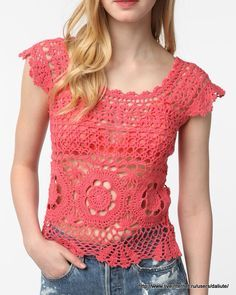 Blusa en crochet super fácil !